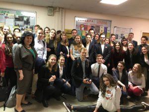 Студенты Лейденского ун-та